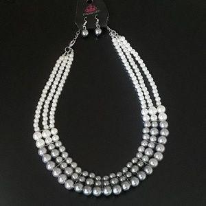 Classy Faux Pearl Set